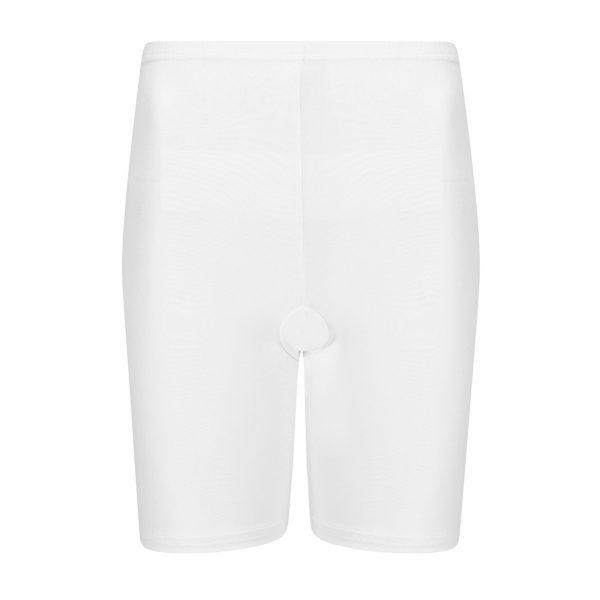 wit broekje voor onder je jurk of rok, met pijpjes zodat je benen niet tegen elkaar schuren