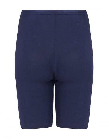 achterzijde donkerblauw broekje met pijpjes