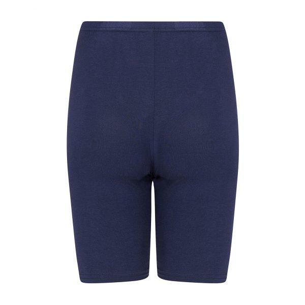donkerblauw broekje met pijpjes