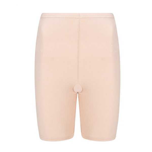 nude kleurig broekje dat helpt tegen schurende bene