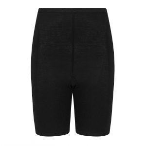 broekje met korte pijpjes tegen schurende benen zwart. extra zachte en dunne stof, katoenzijde